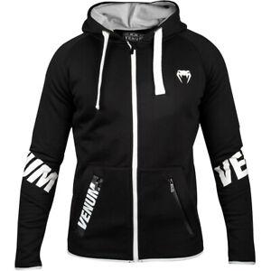 Venum Contender 3.0 Full Zip Hoodie - Black
