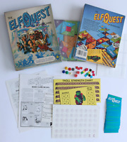 GREAT SHAPE! Mayfair 1986 ElfQuest Boardgame complete Wendy Pini Warp Graphics