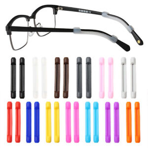 10Pairs Anti-Slip Glasses Temple Hook Ear Grip Silicone Retainer Eyeglass Leg #t