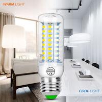 E27 E14 7W 9W 12W 15W 20W 25W 5730 SMD LED Corn Bulb Lamp Light warm white YK