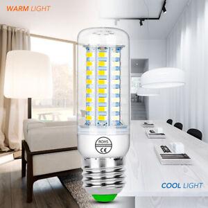E27 E14 7W 9W 12W 15W 20W 25W 5730 SMD LED Corn Bulb Lamp Light warm whi,XHFUK