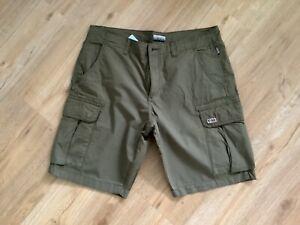 Napapijri Shorts Portes W 34 olive