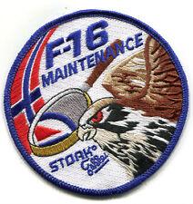 F-16 FIGHTING FALCON SWIRL vel©®⚙ INSIGNIA: RNoAF Luftforsvaret MAINTENANCE