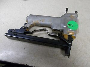 Bostitch Pneumatic Staple Gun Stapler 063536 FOR PARTS OR REPAIR *FREE SHIPPING*