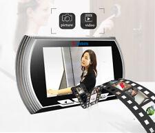 """4.3"""" LCD HD Peephole Viewer Door Eye Doorbell IR Camera PIR Motion Detection US"""