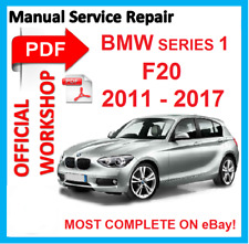 # OFFICIAL WORKSHOP MANUAL service repair FOR BMW series 1 F20 2011 - 2017 F21