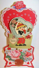 Vintage 1920's 1930's For A Sweet Valentine Pop-Up Pop Up Paper Greeting Card
