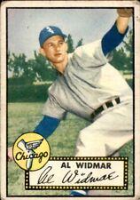 Al Widmar 1952 Topps #133 White Sox Good 61133