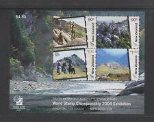 New Zealand - 2004, World Stamp Exh Singapore sheet - MNH - SG MS2731