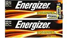 48 Energizer Industrial AA Alkaline Batteries (EN91, LR6, 1.5V)  Freshest Date!