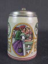 Jugendstil Bierkrug  - - signiert Franz Ringer