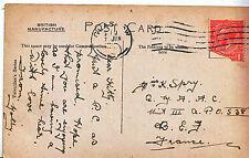 Genealogy Postcard - Family History - Spry - Q.M.A.A.C. - B.E.F. - France  U3737