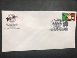 #2962 Sports Baseball M247 San Diego Padres Home Opener 1996 MLB Marlins