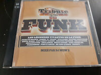 original ALBUM CD -  Various – Tribute To The Funk  2xCD INTRO FEATURING SIDNEY