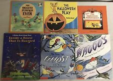 Scholastic Halloween Book Lot of 6 Early Learning Homeschool Level One HL1