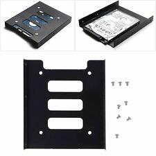 """2.5"""" to 3.5"""" SSD HDD Metal Adapter Mount Bracket Hard Drive Holder for PC Best"""