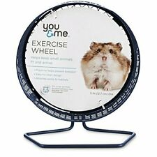 New You & Me Dwarf Hamster Gerbil Rat Guinea Pig Mice Mouse Exercise Wheel, 5""