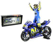Minichamps Valentino Rossi 1/12 Set Yamaha Figure Winner GP ASSEN 2017 MOTOGP