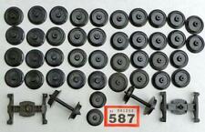 More details for #587 vintage hornby 40 plastic o gauge wheels + others