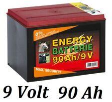 Weidezaunbatterie 9 V 55 ah seco batería batería pradera