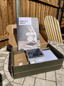Kiwi Co Eureka Crate Build Your Own Printing Press Project Educational Kiwico