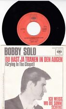BOBBY SOLO * 1965 * ELVIS PRESLEY *dt. COVERVERSION* CRYING IN THE CHAPEL * RAR