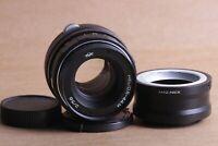 Helios 44M 58mm f./ 2 Helios-44M M42 Lens + Sony E NEX (for E-mount cameras)