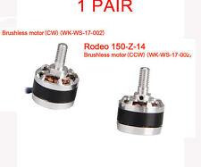 1Pair  WALKERA Parts RODEO 150-Z-13/14  Brushless Motor CW CCW WK-WS-17-002