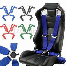 "Sports Racing Harness Car Seat Belt 3"" 4 Point Fixing Quick Release Safety"