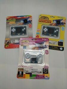 Micro Arcade Series 1 Complete - Centipede,Tetris, PacMan (Set of 3 consoles)