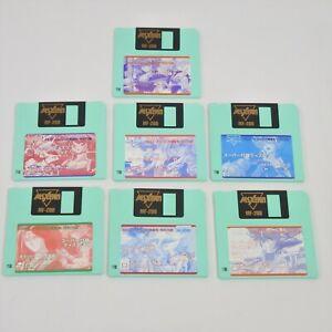 MSX FAN Lot of 7 Super Furoku Disk Only Msx2/2+ 3.5 2DD 1365 msx