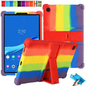 Kids Soft Silicone Case For Lenovo Tab M10 FHD Plus TB-X606F 10.3'' Stand Cover
