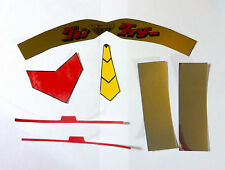 goldorak mazinger AUTO-COLLANT decals gaiking shogun jumbo Stickers mattel popy