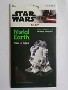 Star Wars Metal Earth R2-D2 ICONX model kit