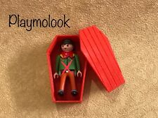 OFERTA! ATAUD OESTE WÉSTERN COFFIN CERCUEIL CUSTOM PLAYMOBIL FIGURA NO INCLUIDA