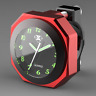 "7/8"" CNC Waterproof Motorcycle Handlebar Mount 1"" Dial Clock Watch   √"