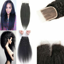 Lace Closure Hidden Natural Wavy Kinky Straight Virgin Brazilian Human Hair Part