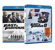 FAST AND FURIOUS 7 e 8 (2 BLU-RAY) Cofanetti Film Singoli, Vin Diesel
