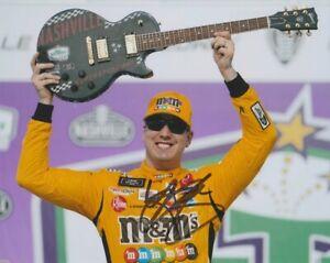 2021 Kyle Busch signed Nashville Win NASCAR Cup 8x10 Photo