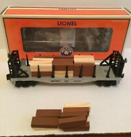 Lionel NYC Flatcar With Bulkheads O Gauge