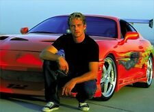 """Fast and Furious 7 Paul Walker Movie star hot wall  Poster  18""""x13""""  001"""