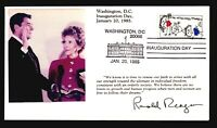 Reagan 1985 Inauguration Cover / First Couple Photo Cachet (I) - Z14523