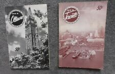 2 Vintage booklets: This is Toronto/This is Ottawa by Renny Englebert 1950s