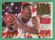 1993-94 Fleer Ultra USA Basketball Alonzo Mourning Hornets #367