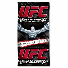 "UFC Ultimate Fighting Championship Wincraft 30"" x 60"" Beach Towel 100% Cotton"