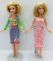 Lot of 2 Mary-Kate and Ashley Olsen Dolls  1987 Mattel. Free Shipping!