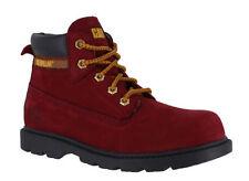 Scarpe rosso medio con lacci per bambini dai 2 ai 16 anni