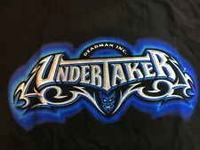 Vintage WWE WWF NWO WCW Youth T Shirt Large Rare Undertaker Deadman Inc