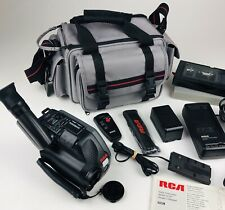 RCA Small Wonder Video Camera Camcorder Model CC187 Owners Manual With Case