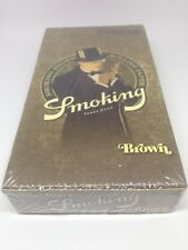 Smoking Brown 1 1/4 Rolling Paper -12 Booklets FREE GIFT Blunt Magic